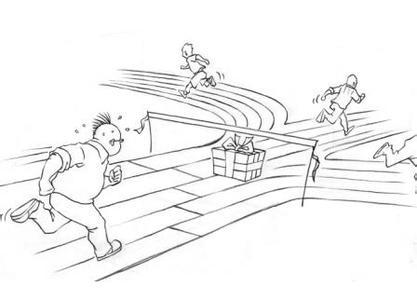 中国龙头的简笔画法及步骤