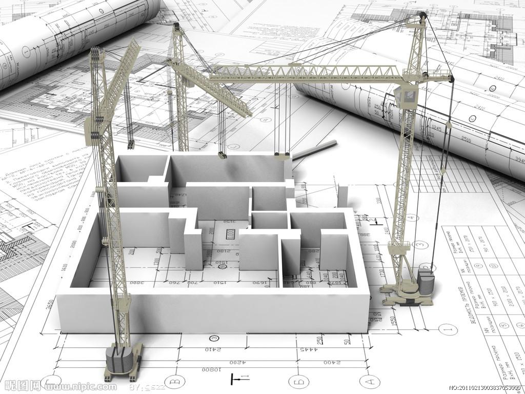 工程图 设计图; 3d建筑设计模型图纸设计图; 建筑工程设计