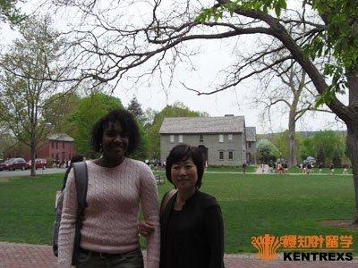 Michelle和我的合照